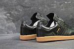 Чоловічі кросівки Adidas Samba (чорні), фото 3