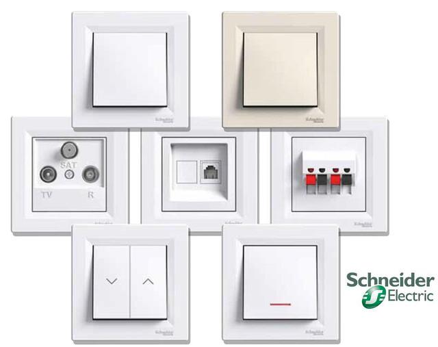 8a3113fbb Цены на Розетки и выключатели ASFORA Schneider Electric - купить в Киеве от  компании