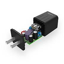 Универсальное сетевое зарядное устройство Rock 5V/1A RWX0229 (GS-50100A), фото 3