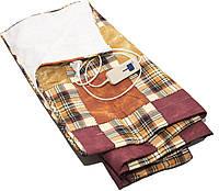 Электропростынь electric blanket 150*170 двуспальная, одеяло с подогревом, фото 1