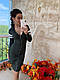 Трикотажное облегающее платье на молнии, фото 7