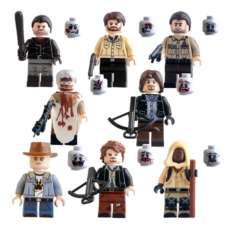 Фигурки Ходячие мертвецы The Walking Dead лего Lego