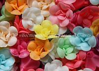 Вафельные цветы «Фиалки микс» 160 шт