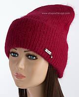 Женская шапочка с отворотом Карен рубин