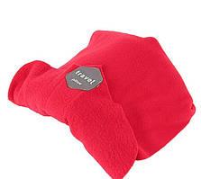 Подушка-шарф для путешествий Travel Pillow красный (HT584)