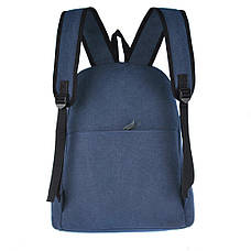 Рюкзак молодёжный BAIYUN  43х31x17 брезент ксВУ135син, фото 2