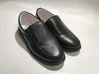 Детские кожаные туфли для мальчика B&G р.31 (BG1827-1602)