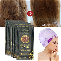 Паровая маска шапка ALIVER MASK STEAM HAIR 35грамм