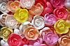 Вафельные цветы «Розы малые микс» 160 шт