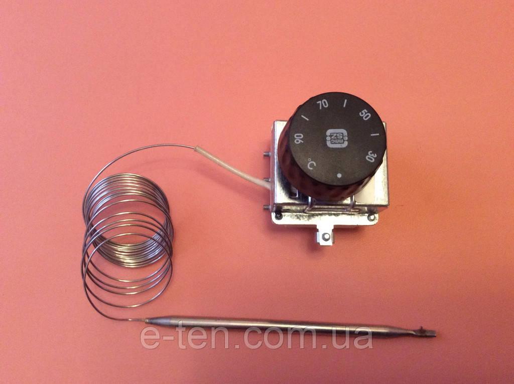 Терморегулятор трьохполюсний капілярний MMG: Tmax=90°З / 20А - 250V / 16А - 400V / L=220см Угорщина