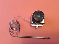 Терморегулятор трёхполюсный капиллярный MMG: Tmax=90°С / 20А - 250V / 16А - 400V / L=220см          Венгрия, фото 1