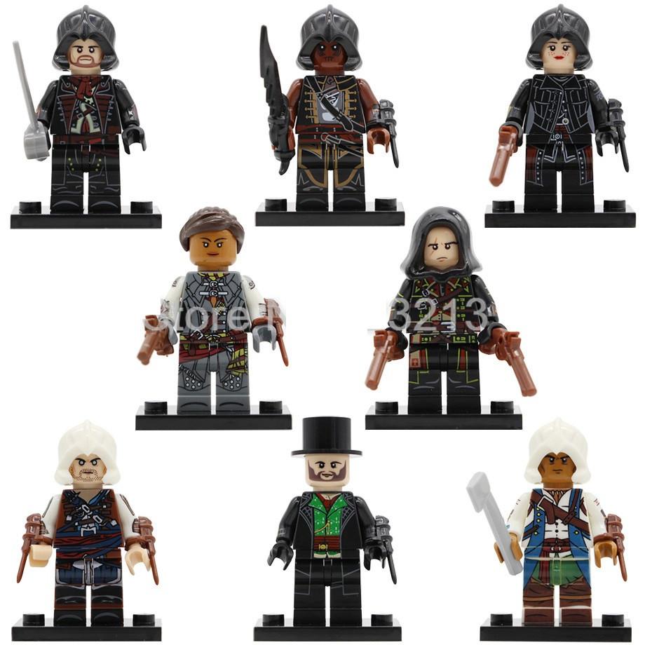 Фигурки Assassins Ассасины лего Lego Эцио