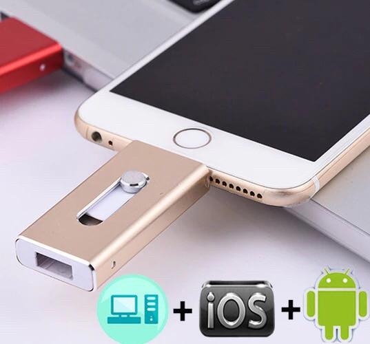 Флешка Flash Drive  для Iphone/IPad 128 Gb