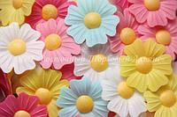 Вафельные цветы «Шиповник микс» 200 шт
