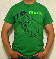 "Мужская футболка ""MUSIC"""