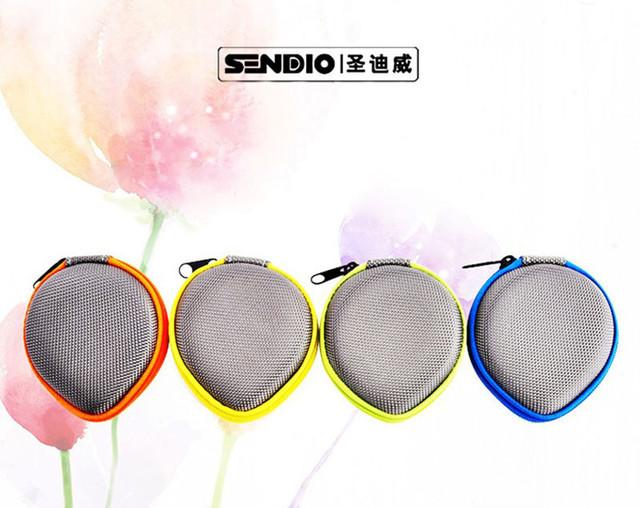 Кофр для хранения наушников, кабелей и карт памяти Sendio Epr01