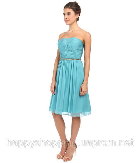 Голубое платье Donna Morgan