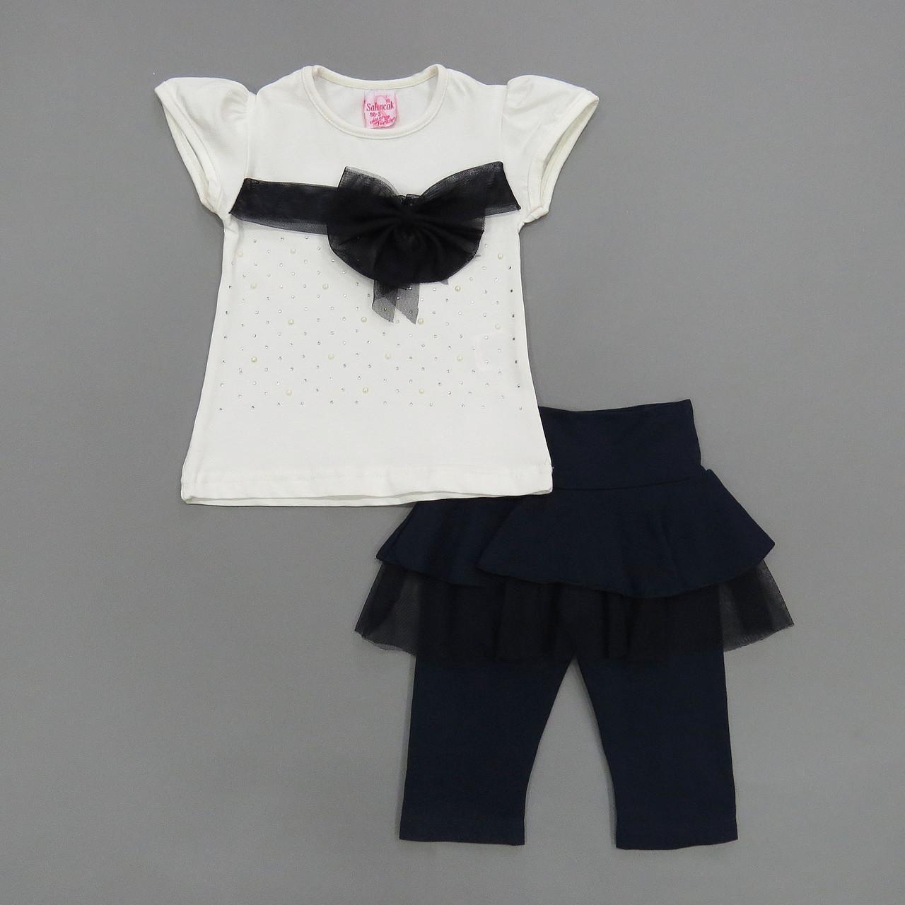 Летний костюм для девочки. Маломерит. 98, 104 см