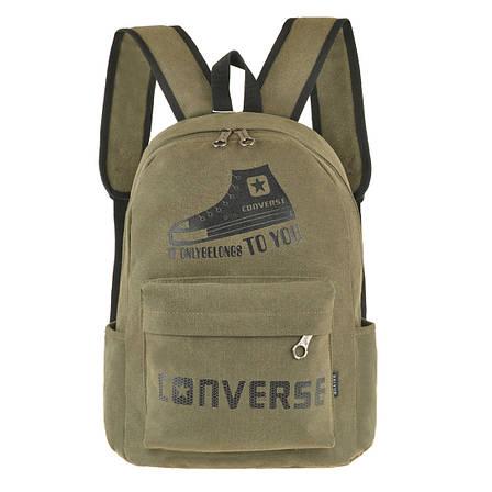 Рюкзак молодёжный CONVERSE брезент 43х31x17  ксВУ738-1х, фото 2
