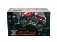 """Машинка """"Savage: Пикап"""" на радиоуправлении (красная) 5502ABC 7Toys (TC111047)"""