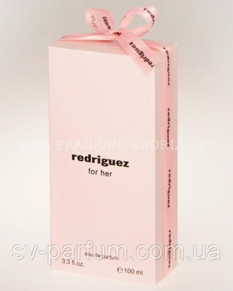 Парфюмированная вода женская Redriguez Pink 100ml