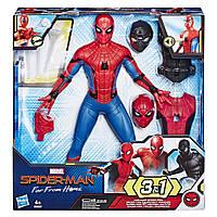 Интерактивный Спайдермен  Человек-паук 3-в-1 со сменной одеждой и аксессуарами 33 см