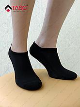 Носки мужские Taso 105 укороченные с резинкой, цвет Черный, размер 25