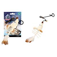 Karlie Flamingo (Карле Фламинго) Skeleton Mouse скелет мыши подвесная игрушка для котов плюш