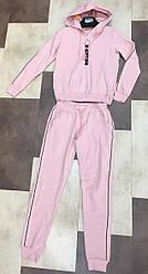 Спортивный костюм женский на змейке манжеты лампасы S-L (деми)
