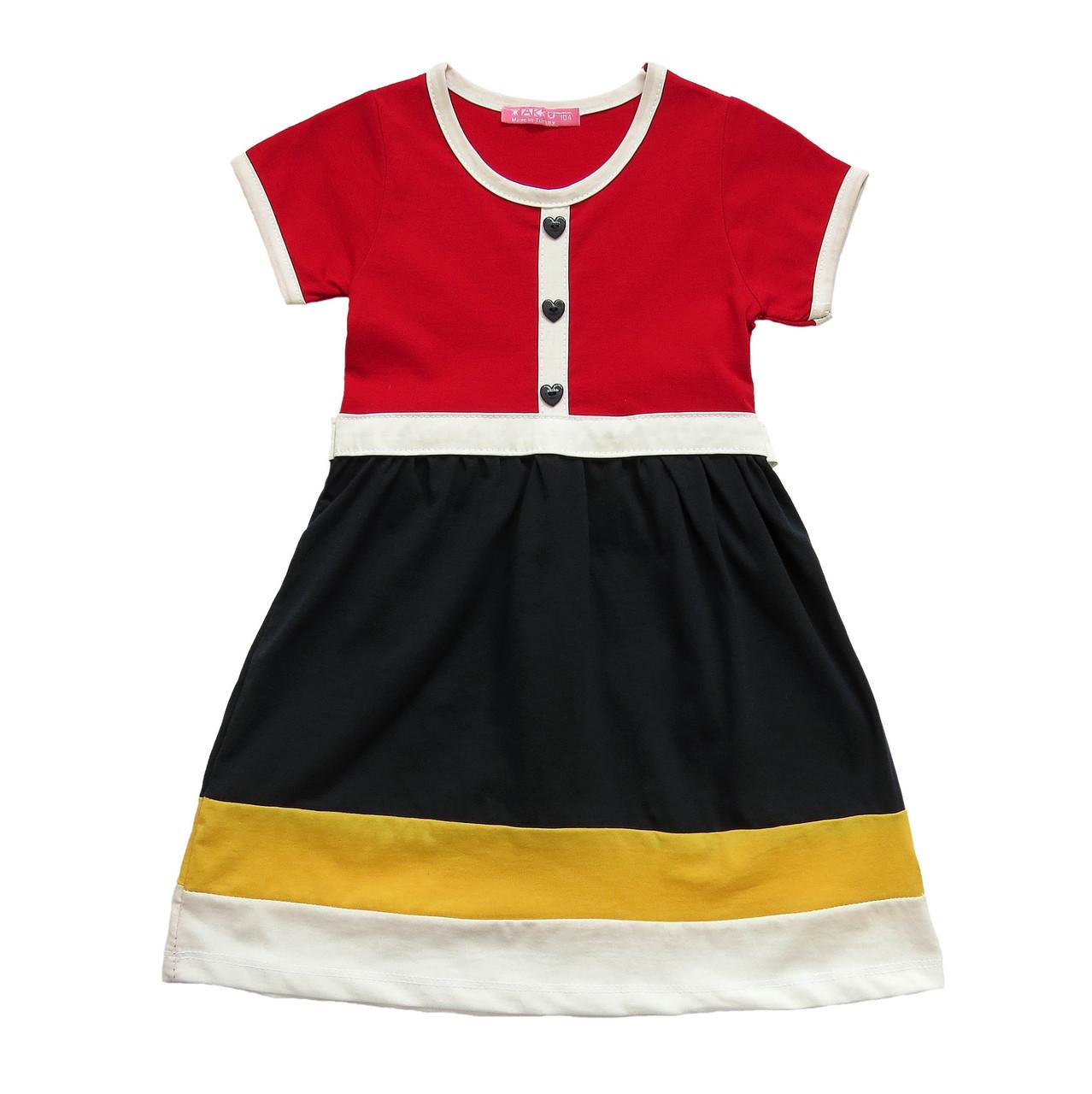 Летнее платье для девочки. 92 см