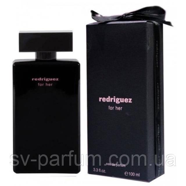 Парфюмированная вода женская Redriguez Black 100ml