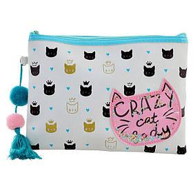"""Пенал-косметичка YES TP-13 """"Crazy Cat"""""""