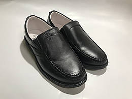 Детские кожаные туфли для мальчика B&G р.33 (BG1827-1602)
