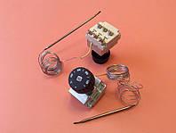 Терморегулятор трёхполюсный/трёхфазный капиллярный MMG: Tmax=400°С / 16А - 400V / L=220см          Венгрия