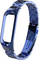 Аксессуар UWatch Ремешок UWatch Metal Strap For Xiaomi Mi Band 3 Blue F_83910