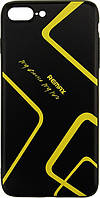Чехол Remax Чехол-накладка Remax 3D Customized Case Apple iPhone 7 Plus Black F_62099