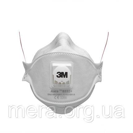 Респиратор 3M™ Aura™ 9332+ FFP3 NR D, фото 2