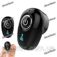 Гарнитура Bluetooth S650 черного цвета. Блютуз. Mini Bluetooth