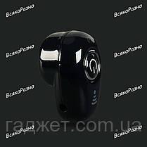 Гарнитура Bluetooth S650 черного цвета. Блютуз. Mini Bluetooth, фото 2