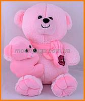 Мишка с медвежонком 35 см | Мягкий плюшевый медведи