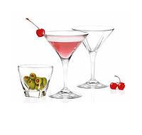 Набор для мартини RCR Fusion (6+2 шт) 255600
