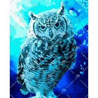 """Картина по номерам.Животные, птицы """"Хранительница ночного солнца"""" 40*50см KHO4089"""
