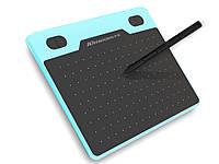 Графический планшет USB T503 8192 уровня  Синий