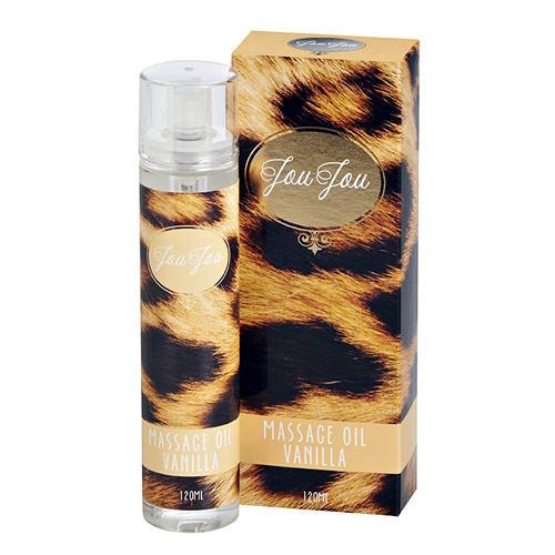 Расслабляющее масло для массажа ванильное JouJou Massage Oil Vanilla