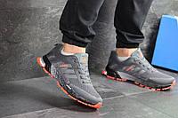 Мужские кроссовки в стиле Adidas Marathon, сетка, пена, серые 42 (26,7 см)