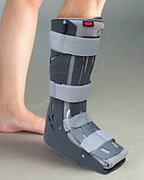 Пневматический Ортопедический сапог жесткий на голеностопный сустав Aurafix Турция / Af - 452