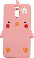 Чехол TOTO Чехол-накладка TOTO Silicon Сartoon Network Chicken Case Meizu M6 Note Pink F_71690