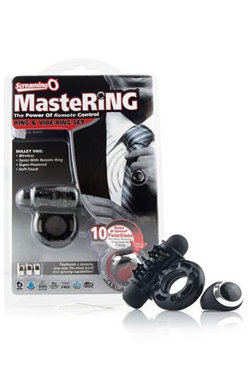 Виброкольцо ерекційне на бездротовому управлінні Screaming O Mastering Wireless Remote Ow Ring