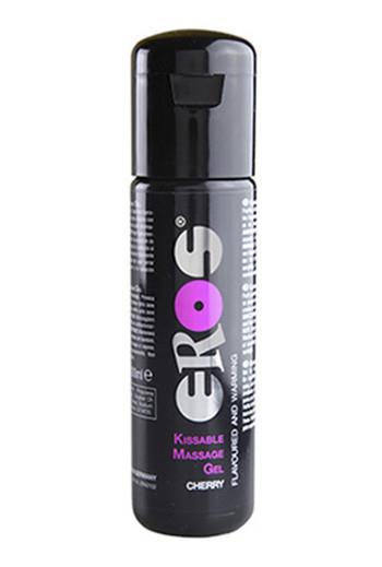 Вишневый гель для массажа съедобный Eros Kissable Massage Gel Cherry 100 ml