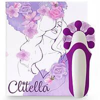 Женский имитатор оральных ласк FeelzToys Clitella Oral Clitoral Stimulator Purple